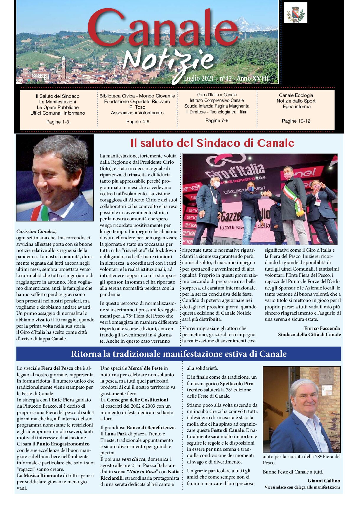canale notizie n.42