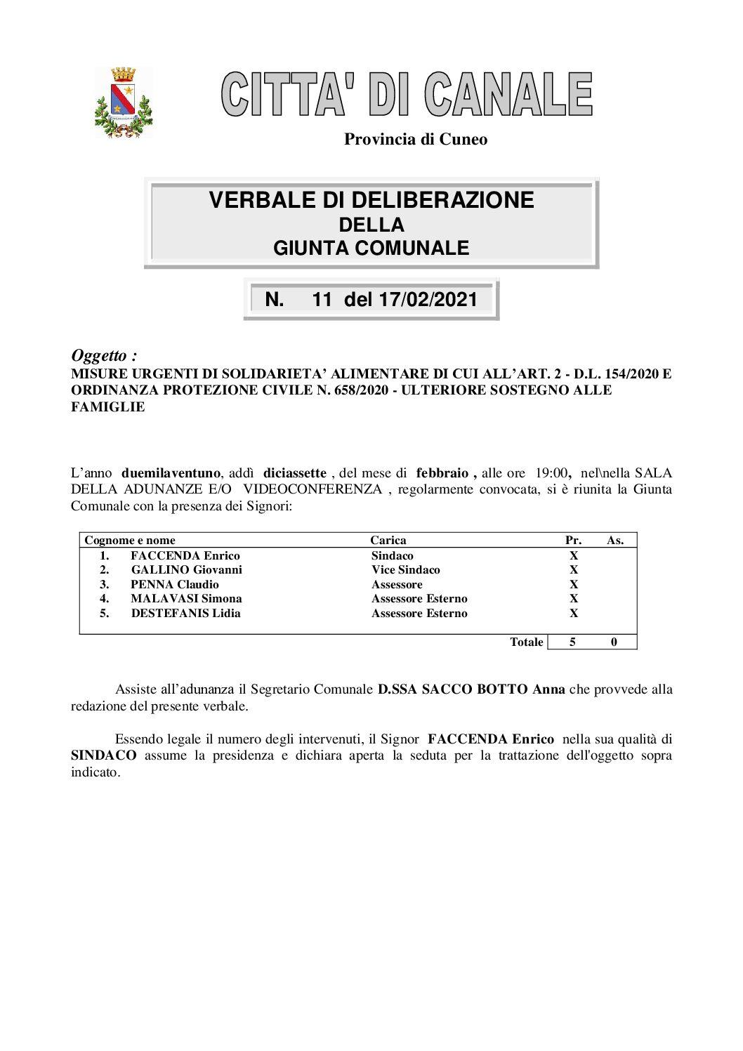 gc_11_2021 BUONI SPESA TRASFERIMENTO PROT. CIVILE